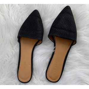J. Crew Pointed Toe Slides